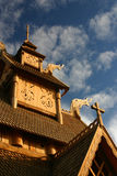 Gol Stave Church royalty free stock image