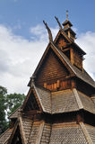 Gol stave church in Folks museum Oslo Royalty Free Stock Photography