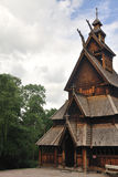 Gol stave church in Folks museum Oslo Royalty Free Stock Image