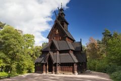 Gol Stave Church Stock Images