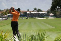 Gol swing at doral, miami Royalty Free Stock Photo