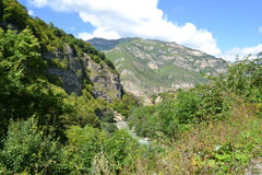 gola chemgensky Cabardino-Balcaria Caucaso Immagine Stock