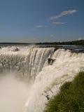 Gola dei diavoli, cadute di Iguacu, Brasile. Fotografia Stock Libera da Diritti
