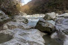 Gola del fiume Immagini Stock