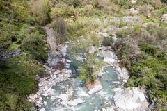 Gola del fiume Fotografie Stock