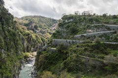 Gola del fiume Fotografia Stock Libera da Diritti