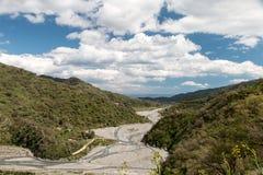 Gola del fiume Immagine Stock