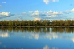 Gola del fiume Columbia Fotografia Stock