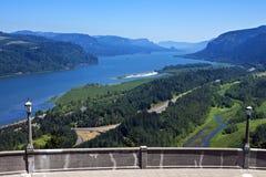 Gola del fiume Columbia Fotografie Stock