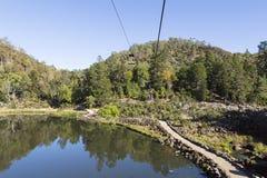 Gola della cataratta in Tasmania immagini stock