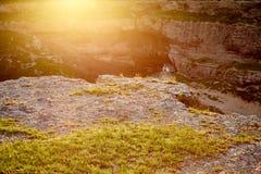 Gola della montagna Fotografia Stock