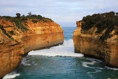 Gola di Ard del lago, Australia Fotografie Stock