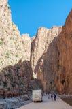 Gola di Dades nel Marocco Fotografie Stock Libere da Diritti