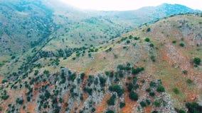 Gola di Deepg in montagne a Creta stock footage