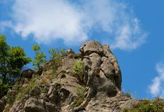 Gola di Erma River, Tran, Bulgaria Immagini Stock
