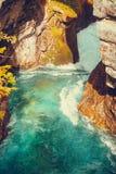 Gola di Gudbrandsjuvet in Norvegia Fotografia Stock Libera da Diritti