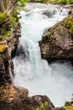 Gola di Gudbrandsjuvet in Norvegia Fotografie Stock