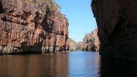 Gola di Katherine del fiume Fotografia Stock Libera da Diritti