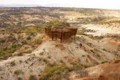 Gola di Olduvai Fotografia Stock