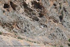 Gola di Samaria, Creta Immagini Stock Libere da Diritti