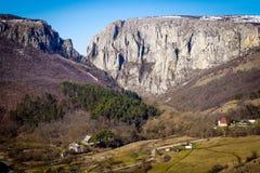 Gola di Turda - Cheile Turzii, la Transilvania, Romania Immagini Stock Libere da Diritti