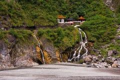 Gola eterna di Taroko del santuario delle primavere Fotografie Stock Libere da Diritti