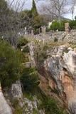 Gola a Mijas nelle montagne sopra Costa del Sol in Spagna Fotografia Stock Libera da Diritti