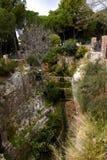 Gola a Mijas nelle montagne sopra Costa del Sol in Spagna Fotografie Stock