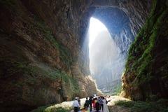 gola nel wulong, Chongqing, porcellana Fotografie Stock