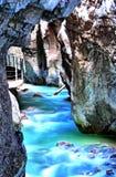 Gola Partnachklamm a Garmisch-Partenkirchen, Bavari di Partnach immagini stock