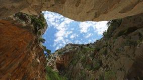 Gola Su Gorropu wąwóz, Sardinia Obrazy Royalty Free