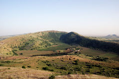 Golan heights. Panoramic view of golan heights, Israel 2009 Royalty Free Stock Photos
