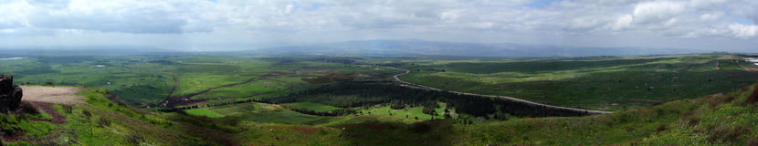 Golan Heights Royalty Free Stock Photos
