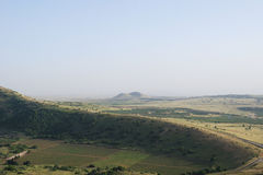Golan heights. Panoramic view of golan heights, Israel 2009 Royalty Free Stock Photo