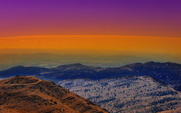 Golan Heights Royalty Free Stock Photography
