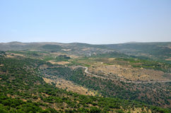 Golan Heights Royaltyfri Foto