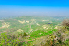 Golan Heights Landscape stock afbeelding