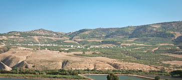 Golan Heights . Royalty Free Stock Image