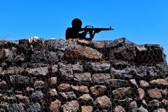 Golanhöhen Israel stockfotos