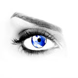 Golbal eye Royalty Free Stock Image