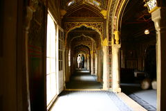 Golconda堡垒在海得拉巴印度 免版税图库摄影