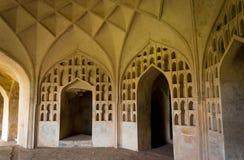 Golconda堡垒,海得拉巴-印度 库存图片