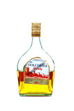 Golconda brandy bottle Stock Photography