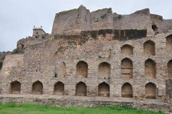 Golconda Fort in Hyderabad Stock Photography