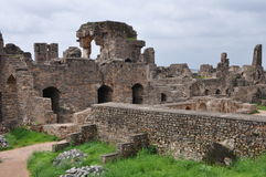 Golconda Fort in Hyderabad Stock Images