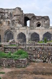 Golconda Fort in Hyderabad Stock Image