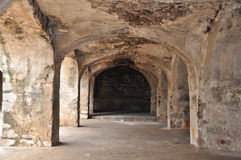 Golconda Fort in Hyderabad Royalty Free Stock Image
