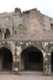 Golconda Fort in Hyderabad Royalty Free Stock Photography