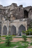 Golconda Fort in Hyderabad Stock Photo