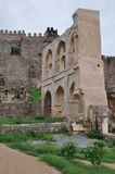 Golconda Fort in Hyderabad Royalty Free Stock Photo